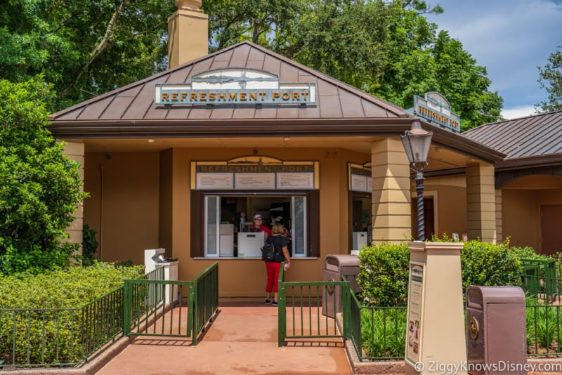 Refreshment Port Review 2018 Epcot Food and Wine Festival booth