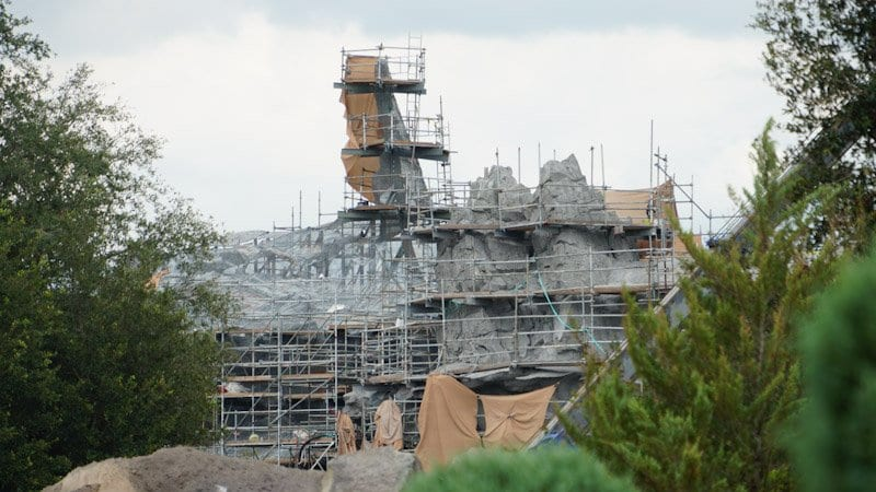 Themed Roofs and Painted Spires Star Wars Galaxy's Edge