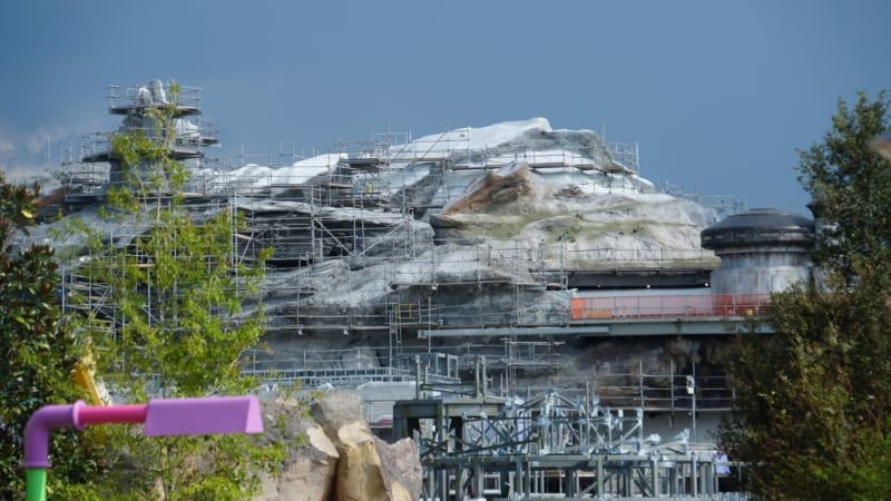 Themed Roofs and Snow-Capped Spires Star Wars Galaxy's Edge