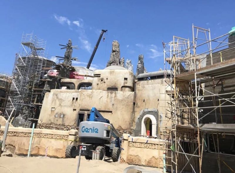 PHOTOS: New Star Wars Galaxy's Edge Photos Leaked in Disneyland Park