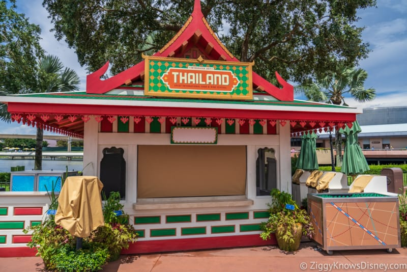 Thailand Review 2018 Epcot Food and Wine Festival booth