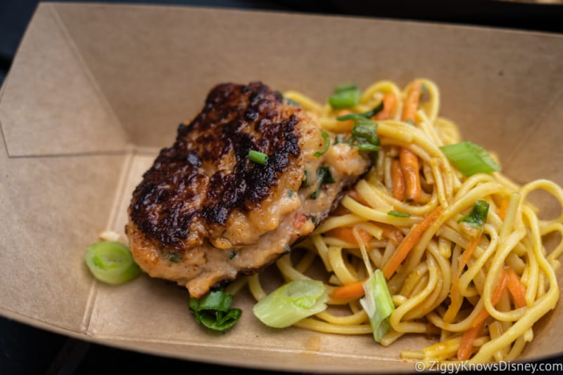 Thailand Review 2018 Epcot Food and Wine Festival shrimp and scallop cake