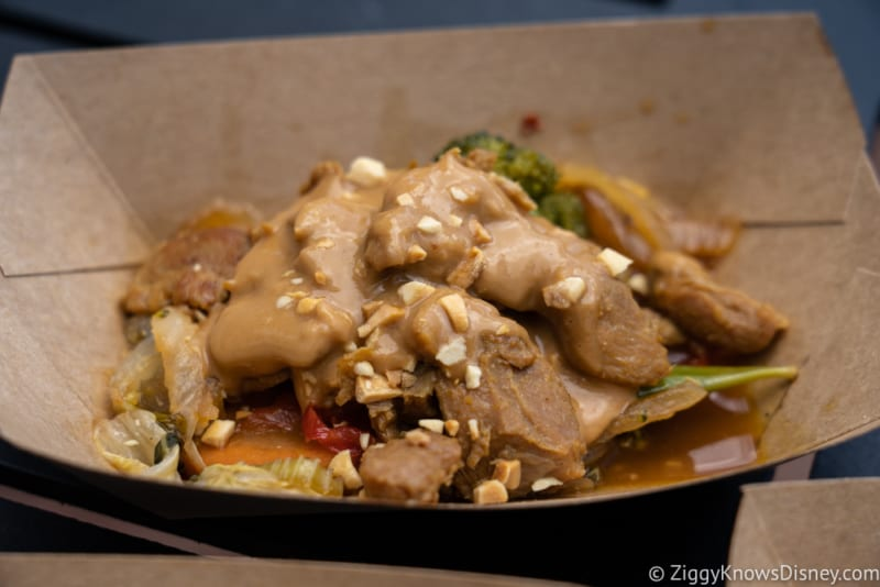 Thailand Review 2018 Epcot Food and Wine Festival chicken peanut