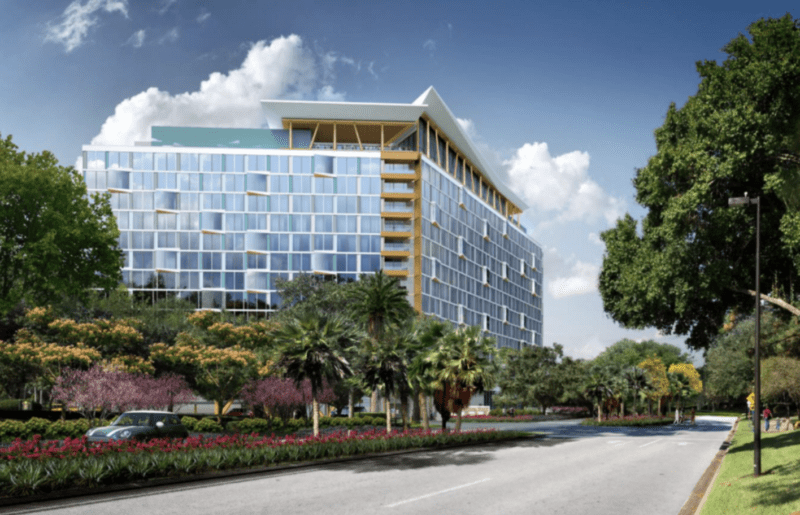 "New Swan and Dolphin Hotel ""The Cove"" Begins Construction"