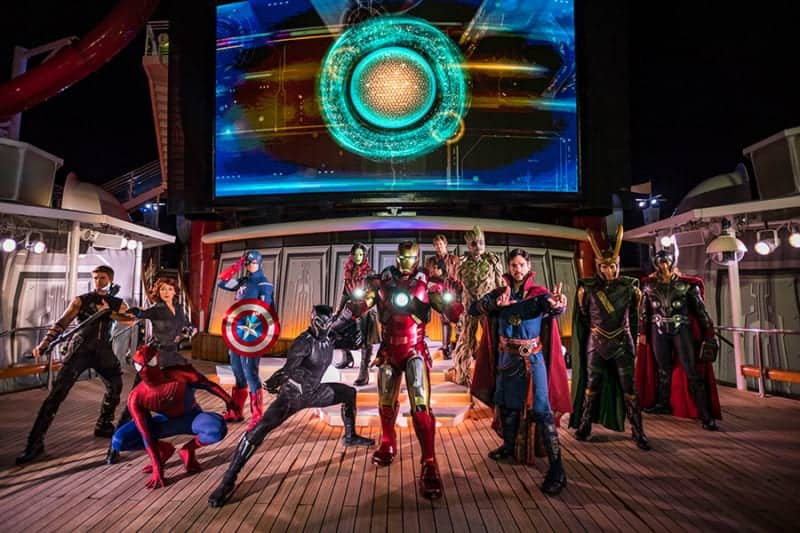 """Captain Marvel Coming to Disney Cruise Line's """"Marvel Day at Sea"""" in 2019"""