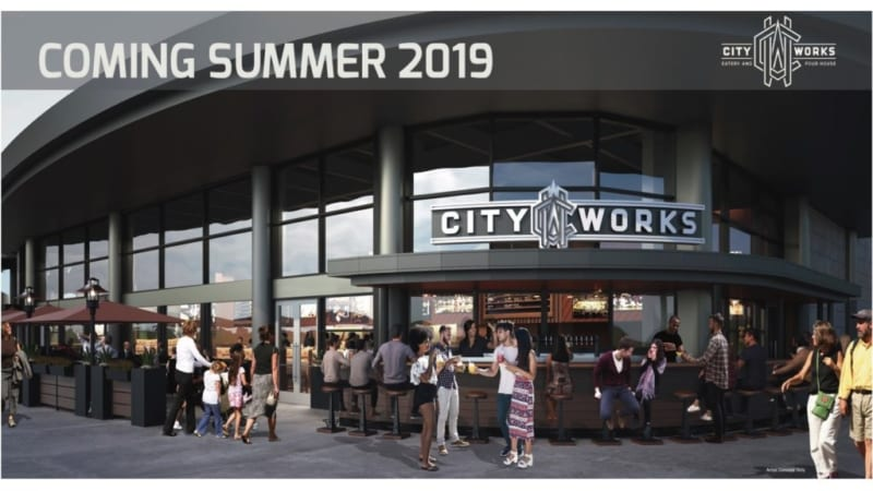 City Works Eatery & Pour House Coming to Disney Springs Summer 2019