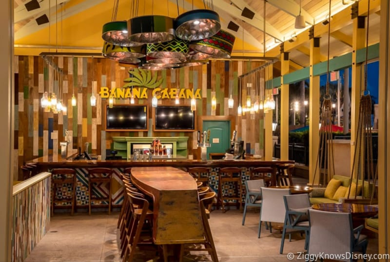 Caribbean Beach Resort New Renovations Open Today banana cabana