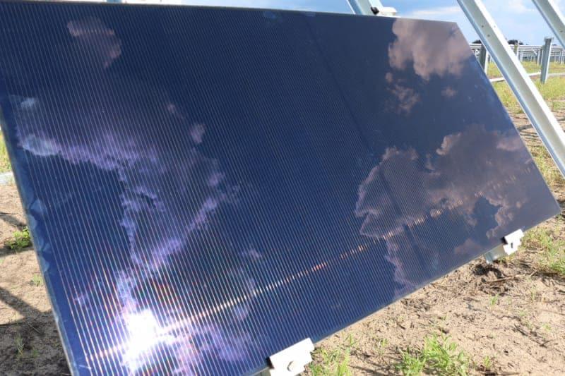 First Solar Panel Installed Walt Disney World's New Solar Facility