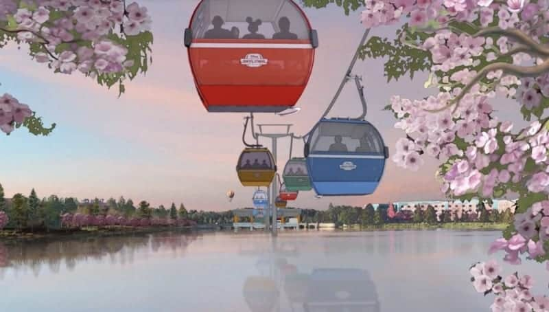 New Disney Skyliner Details Shared as Cables Ready to Be Installed
