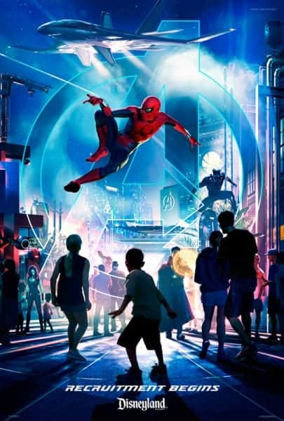 Details Marvel Super Hero Land Disneyland Revealed