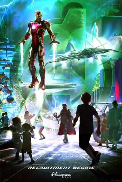 Details Marvel Super Hero Land Disneyland Revealed