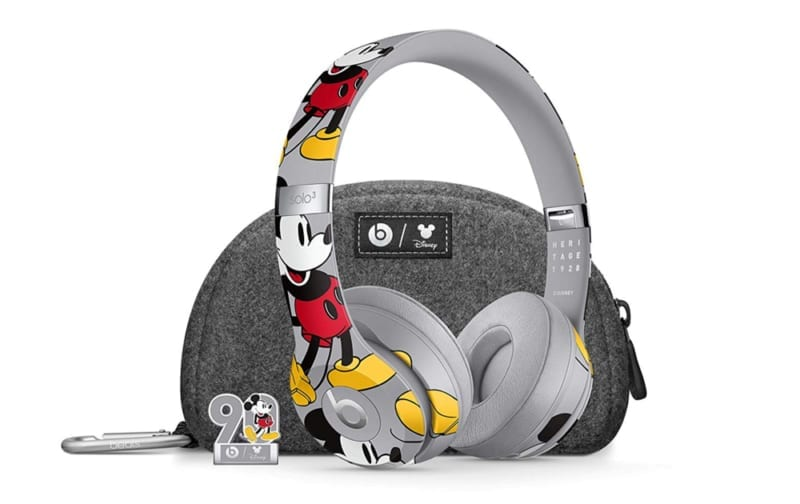 Beats Solo3 Wireless On Ear Headphones Mickey S 90th Anniversary Edition Now Available