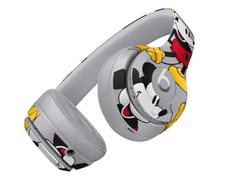Beats Solo3 Wireless On-Ear Headphones - Mickey's 90th Anniversary Edition