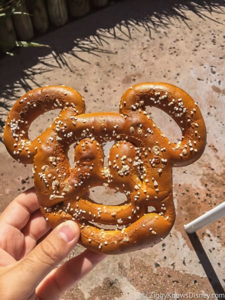Mickey Pretzel Disney World