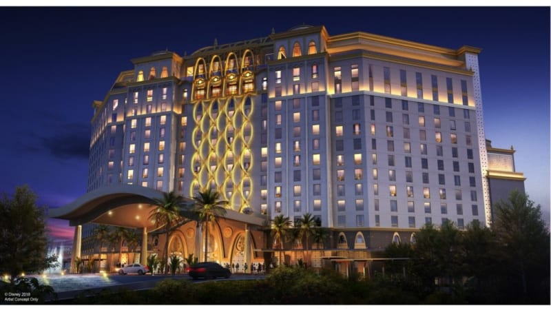 Disney Releases New Concept Art for 15-Story Coronado Springs Resort Tower Project