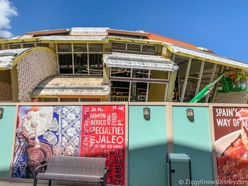 Disney Springs Construction Update October 2018 Photos Jaleo