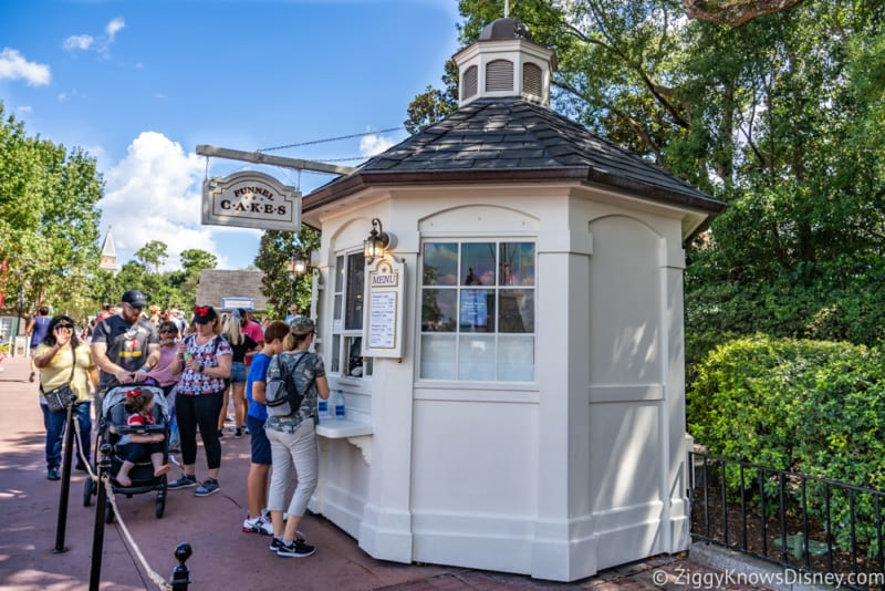 REVIEW Maple Bacon Funnel Cake Epcot