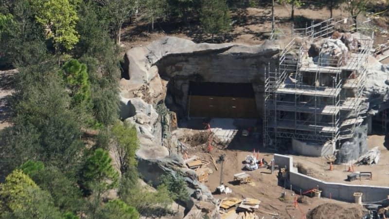 Star Wars galaxy's edge construction update October 2018