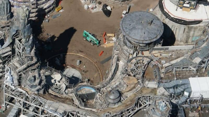 Star Wars galaxy's edge construction update October 2018