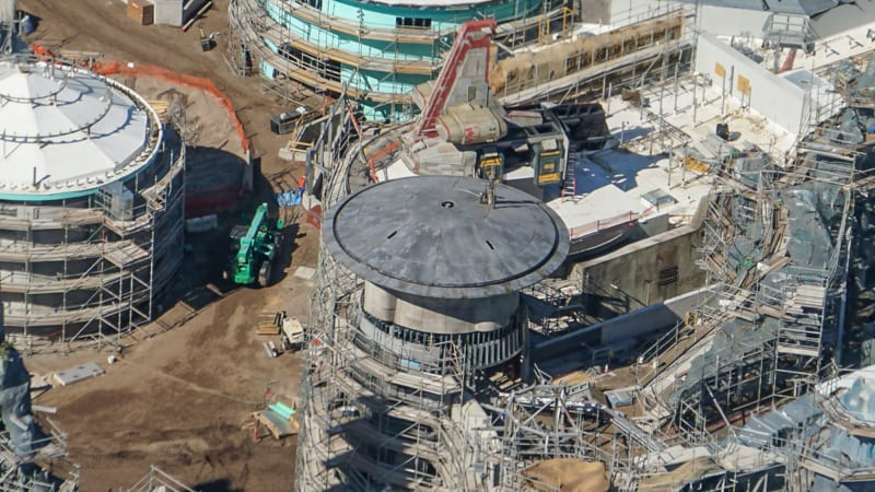 Star Wars Galaxy's Edge Construction Update October 2018 turret