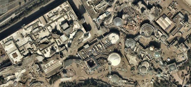 Millennium Falcon Construction Begins in Star Wars Galaxy's Edge in Disneyland