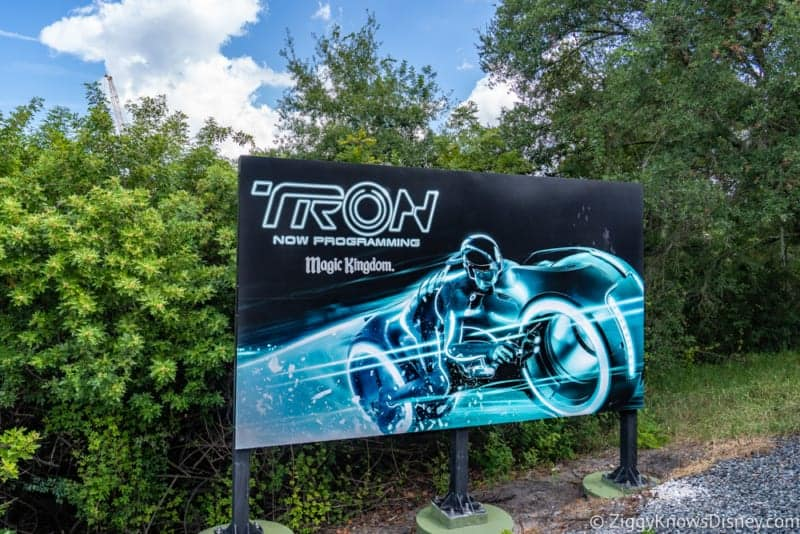 Tron Roller Coaster Construction Update October 2018 Disney's Magic Kingdom