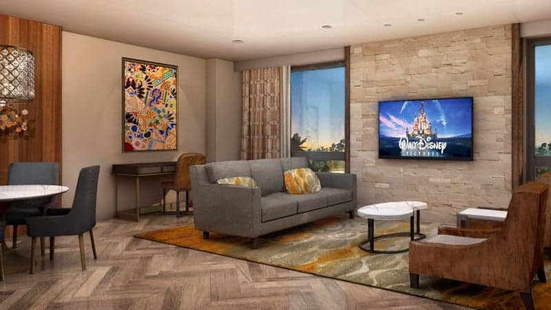 Coronado Springs Gran Destino Tower Opening July 2019 One Bedroom Suite