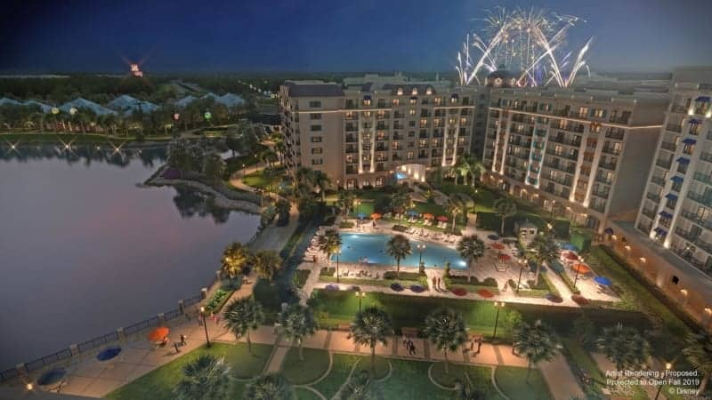New Disney Riviera Resort Concept Art Revealed pool