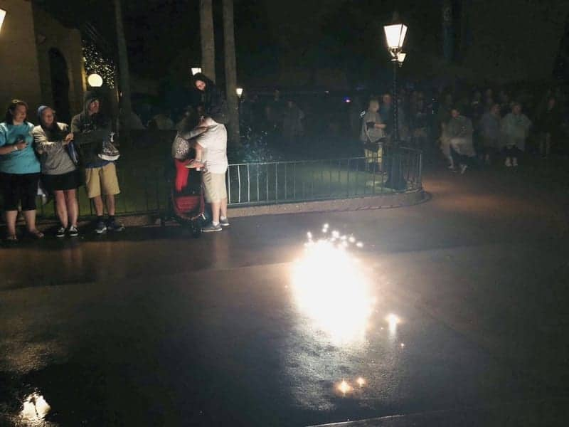 Firework Lands in Crowds During Epcot Illuminations Show
