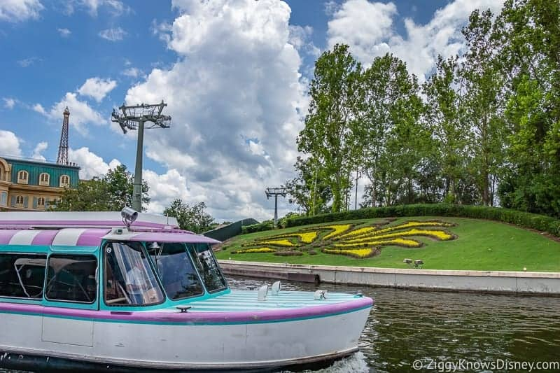 Friendship Boats to Epcot Closed Temporarily Disney Skyliner Construction