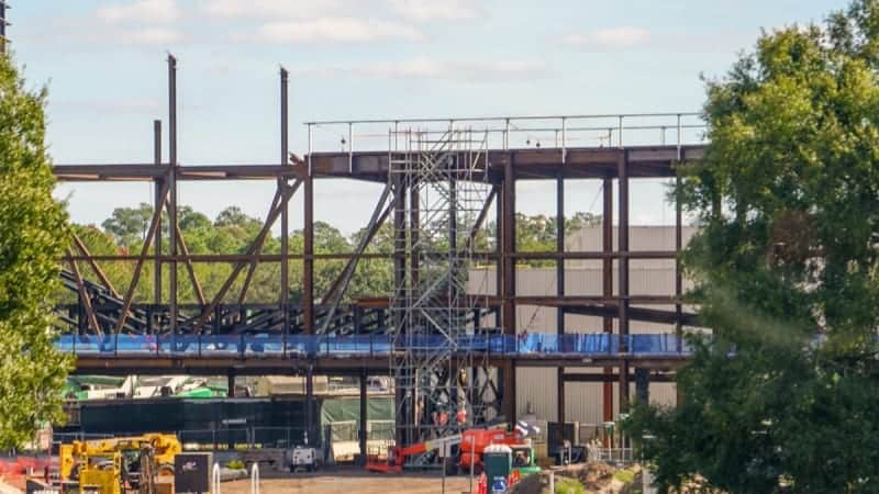 Guardians of the Galaxy Roller Coaster Construction Update November 2018