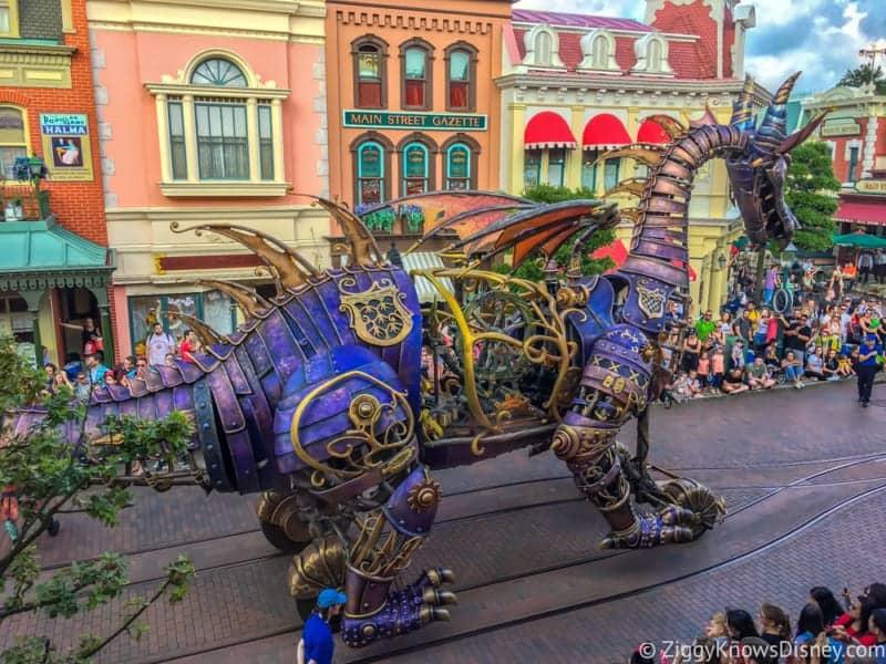 Maleficent Dragon Float Returning Soon to Magic Kingdom Parade
