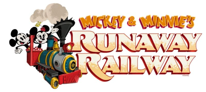 Mickey and Minnie's Runaway Railway opening Fall 2019