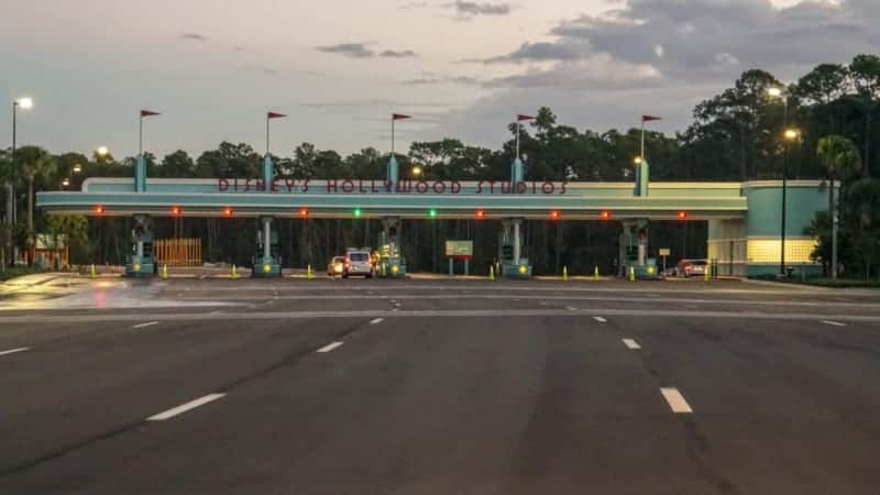 New Disney's Hollywood Studios Parking Entrance Now Open