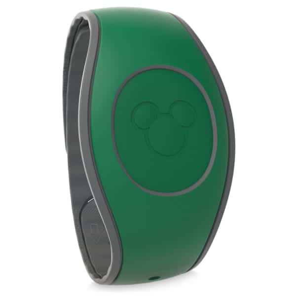 5 New MagicBand 2.0 Colors Released Walt Disney World dark green