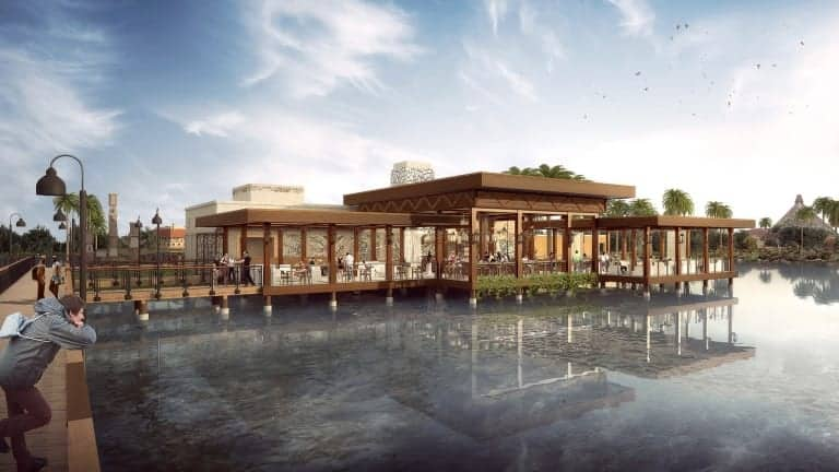 names revealed new restaurants Disney's coronado springs resort three bridges bar and grill