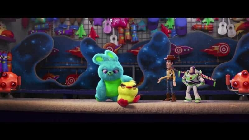 Second Toy Story 4 Teaser Trailer Ducky and Bunny