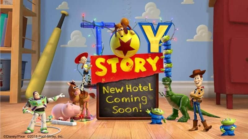 New Toy Story Hotel Coming to Tokyo Disneyland
