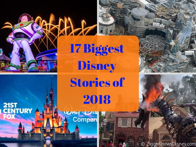 17 Biggest Disney Stories of 2018 - Year in Review Parks and Movies