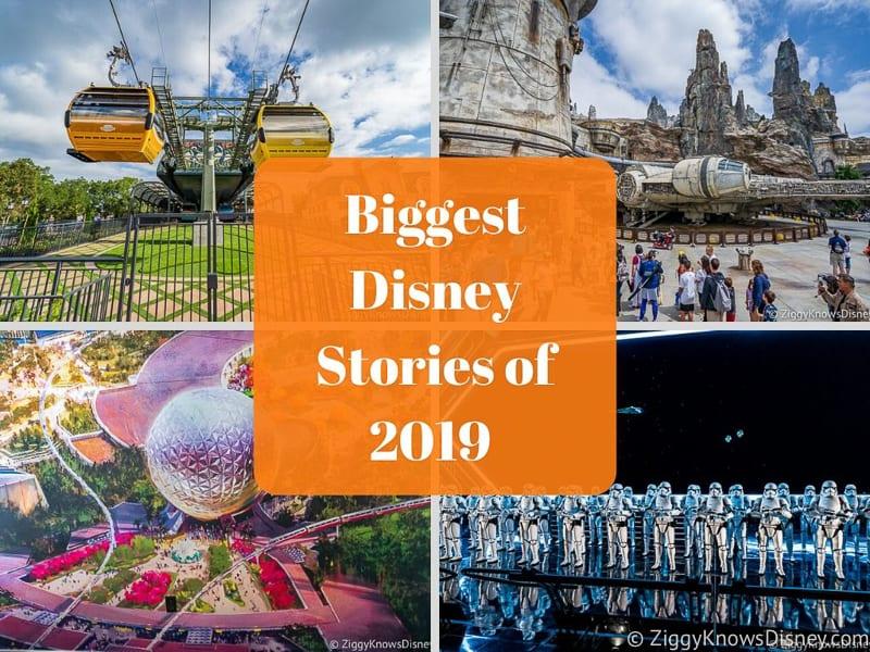Biggest Disney Stories of 2019