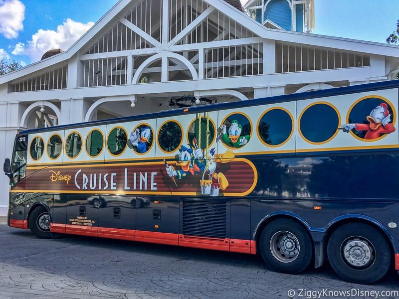 Disney Cruise Line Ground Transportation Increase