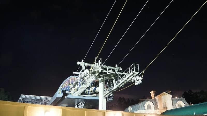 Disney Skyliner Gondola Construction Update December 2018 epcot station