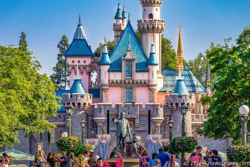 Sleeping Beauty Castle Disneyland Refurbishment