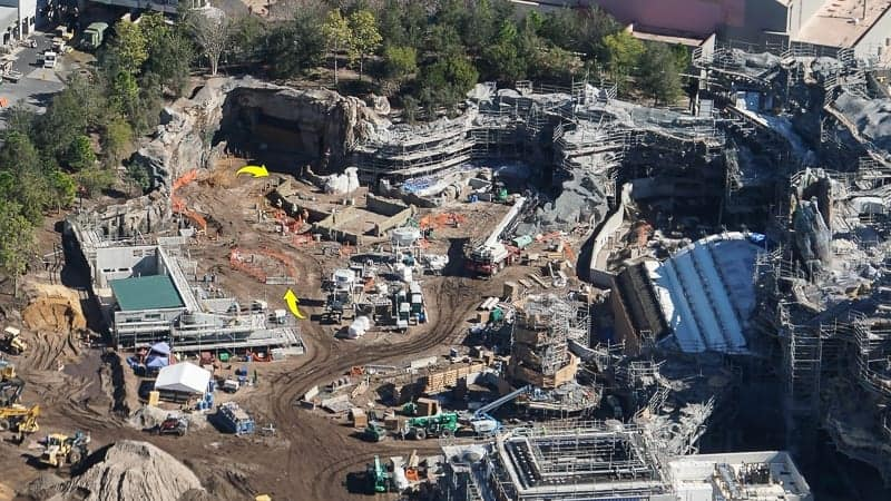 Star Wars Galaxy's Edge Construction Update December 2018 Rise of the Resistance