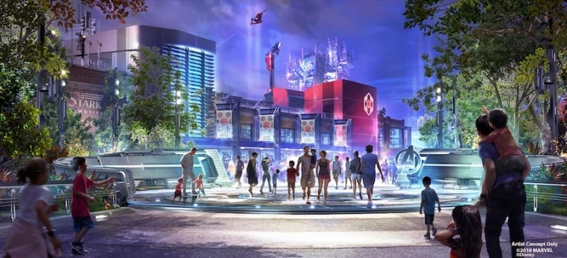 Global Avengers Initiative Marvel Super Hero Land Disney Parks