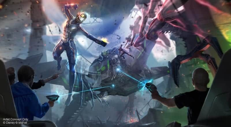Global Avengers Initiative Marvel Super Hero Land Disney Parks