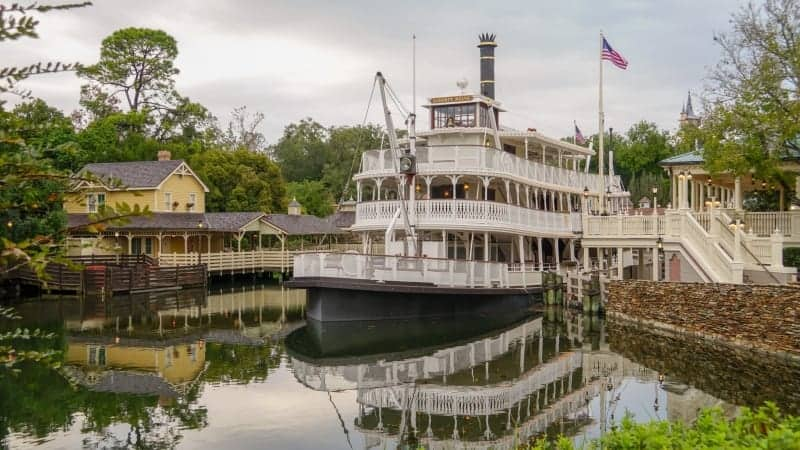 Liberty Square Riverboat Refurbishment