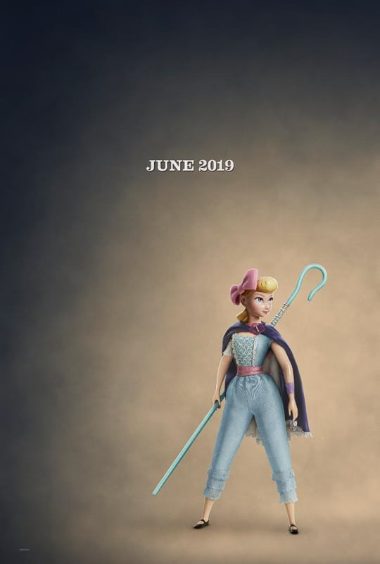 Bo Peep Back Toy Story 4 new outfit