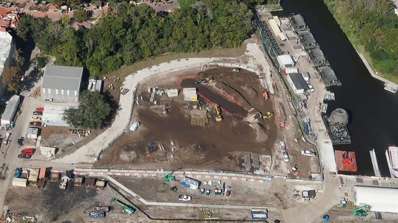 Illuminations Replacement Epcot Update December 2018 African outpost aerial