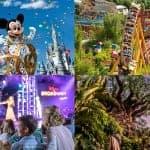 New Walt Disney World 4-Park Magic Tickets
